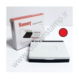 استامپ رومیزی 2560 - قرمز