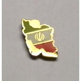 بج سینه پرچم  در نقشه ایران